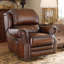 Swivel Recliner Chairs For Living Room Have That Class With A Leather Rocker Recliner Jitco Furniture