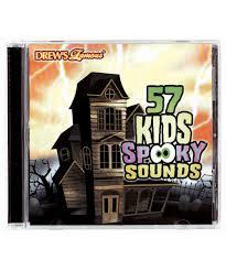 halloween sounds cd 57 kids spooky sounds cd