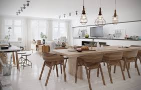 Teak Dining Room Table And Chairs by Long Kitchen Table At Rustic Dining Table Scandinavian Dining Room