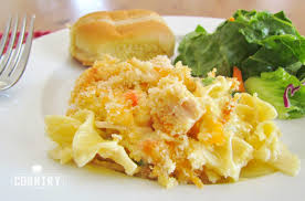 chicken noodle casserole the country cook