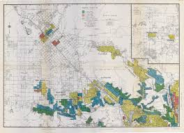 Virginia Tech Map Segregation In The City Of Angels A 1939 Map Of Housing
