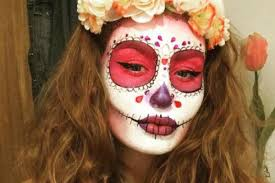 day of the dead 2017 costume and make up ideas from skulls and