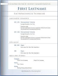 Ms Word Sample Resume by Download Resume Templates On Word Haadyaooverbayresort Com