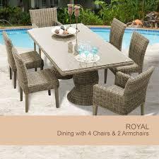 Martha Stewart 7 Piece Patio Dining Set - dining sets 6 person kmart