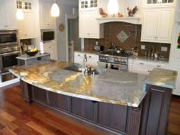 granite countertop cabinet glaze finishes stove backsplash decor