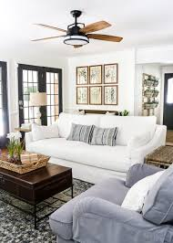 Farm Style Living Room by Modern French Farmhouse Summer Home Tour French Farmhouse