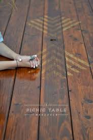 Plans For Wood Picnic Table by Best 25 Diy Picnic Table Ideas On Pinterest Outdoor Tables