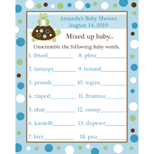 unscramble the letters before the time runs out leily u0027s baby