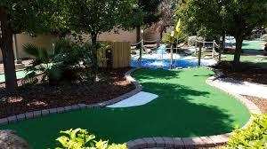 Backyard Golf Hole by Mini Golf U2013 Hole 1