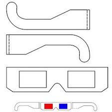 Como hacer: anteojos 3D, fotos 3D y dibujos 3D (Caseros).