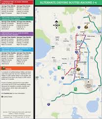 Arcadia Florida Map by Alternate Routes I 4 Ultimate
