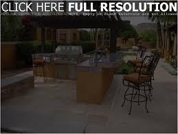 backyards cozy backyard kitchen design arizona outdoor kitchens