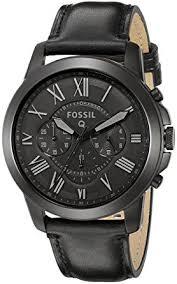 fossil black friday 2017 amazon com fossil q grant gen 1 hybrid black leather smartwatch