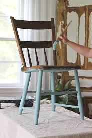 Outdoor Furniture Finish by Painted Chair For Outdoors Love Grows Wild