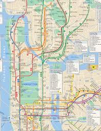 Map New York City by Nyc Subway Map Hi Res