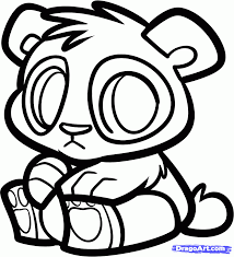 baby panda coloring pages bestofcoloring com