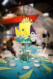 Finding Nemo Centerpieces by Bat Mitzvah Party Decorator Finding Nemo Bat Mitzvah And Birthdays