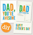 Sarah Hearts - Free Printable Father's Day Cards