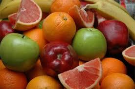 Sumber vitamin banyak didapat dari buah dan sayuran