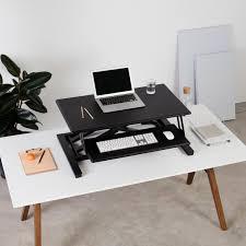 cooper standing desk converter for flexible use fully