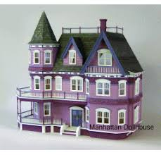 Miniature Dollhouse Plans Free by Manhattan Dollhouse Dollhouse Kits U0026 Dollhouse Miniatures