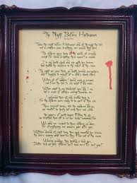Halloween Party Poems The Witch Themed Party