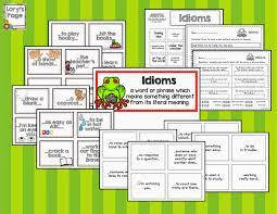 lory u0027s 2nd grade skills idioms