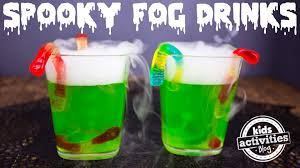 spooky fog drinks for a halloween party youtube