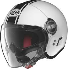 open face motocross helmet 238 46 nolan n21 visor duetto open face helmet 1052594