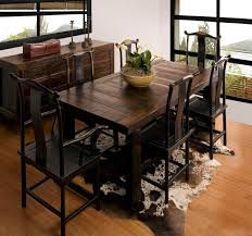 solid wood dining table dining table designs in wood and glass