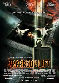 trapped in a lift us letter movie poster by kevan r craft krc