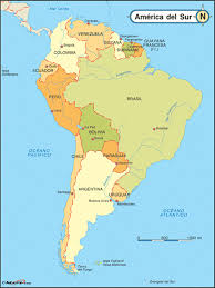 South America Map And Capitals by Spanish Language Maps For Hispanic Heritage Month Maps Com