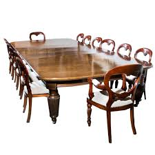 Antique Dining Room Tables by Antique Extending Dining Table 14 Chairs Circa 1880 At 1stdibs