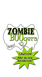 Printable Halloween Tracts by Serving Up Some Zombie Boogers Labels Free Free Printable And