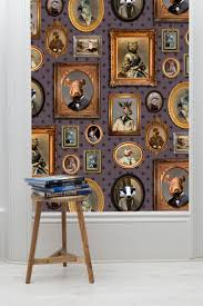 Wallpapers Designs For Home Interiors by Best 25 Quirky Wallpaper Ideas On Pinterest Blue Door Runners