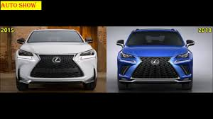 lexus nx turbo top gear new vs old lexus nx f sport comparison youtube