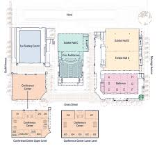San Diego Convention Center Floor Plan by Parking U0026 Directions To The Pasadena Convention Center