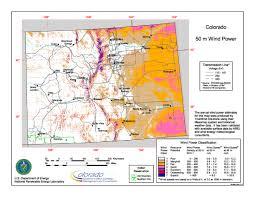 Southwest Colorado Map by Wind Power In Colorado Wikipedia
