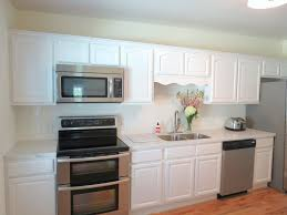 Painted Kitchen Floor Ideas Kitchen Modern White And Wood Cabinets Acacia Floor Ideas With