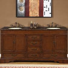 72 u201d perfecta pa 5138 bathroom vanity double sink cabinet red