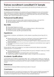 Employment Staffing Resume  Occupational examples  samples Free     aploon