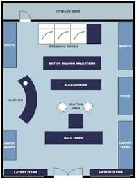 Retail Floor Plan Creator Clothing Boutique Floor Plan Design Portfolio Pinterest