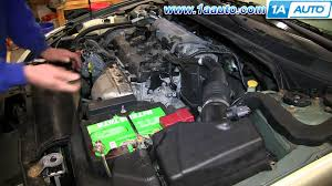 nissan sentra xe 2003 how to install replace coolant temperature sensor 2 5l nissan