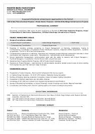 Student Resume Summary Examples by Electrical Engineer Resume Summary Examples Virtren Com