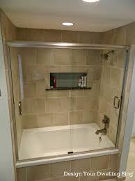 Bathroom Shower Remodel Ideas by Large Bathtub Shower Combo Pool Design Bathtub Shower Combo