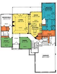 3 Car Garage Traditional 4 Bedroom 3 Bathroom Plan With 3 Car Garage House
