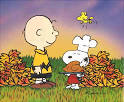 snoopy fall wallpaper