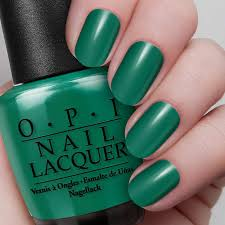 jade is the new black nail lacquer opi