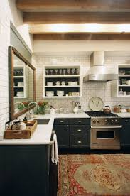 kitchen style elegant country airy modern kitchen design with
