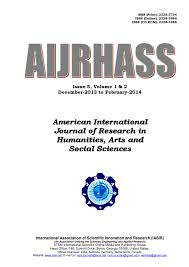 American International Journal of Research in Humanities  Arts and     Issuu American International Journal of Research in Humanities  Arts and Social Sciences issue   vol    by iasir journals   issuu